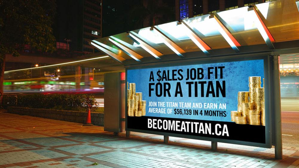 Titan alarms